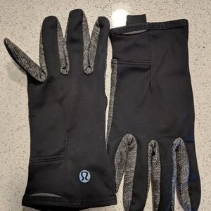 Black Running Gloves S/M